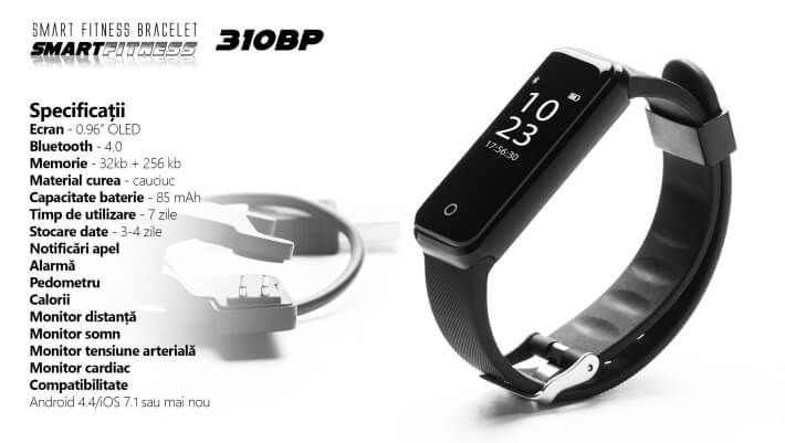 Bratara Bluetooth E-Boda SmartFitness 110