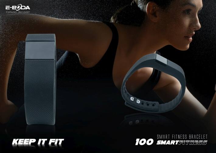 Bratara Bluetooth SmartFitness 100