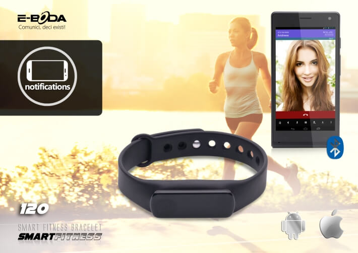 Bratara Bluetooth SmartFitness 120