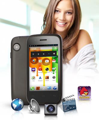 E-Boda Sunny V35 - Multimedia oriunde